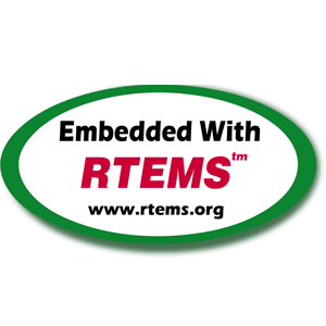 Embedded with RTEMS Logo